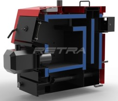 Твердопаливний котел Ретра-Light 50 кВт. Фото 9