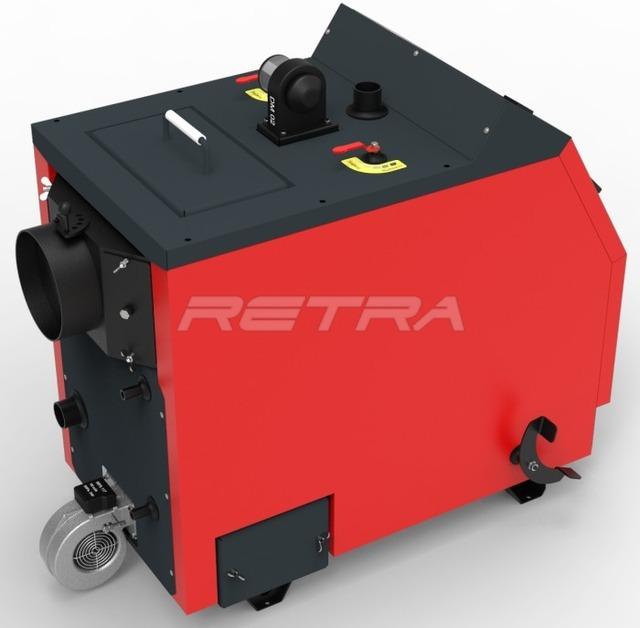 Твердопаливний котел Ретра-3М 40 кВт. Фото 8
