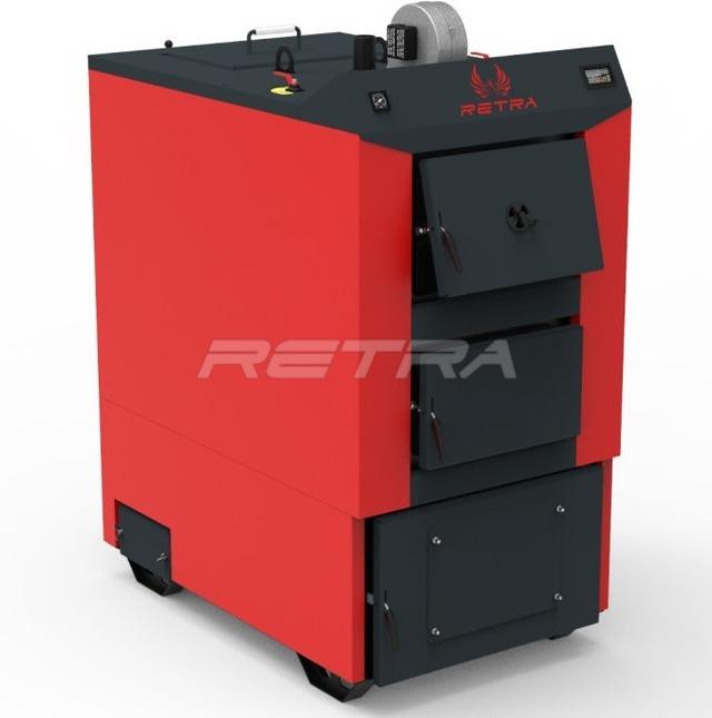 Твердопаливний котел Ретра-4М Combi 80 кВт