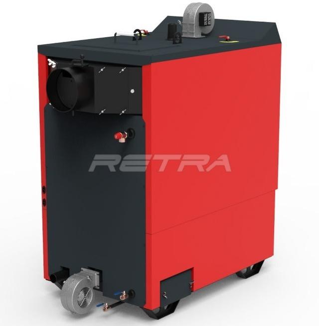 Твердопаливний котел Ретра-4М Combi 80 кВт. Фото 5