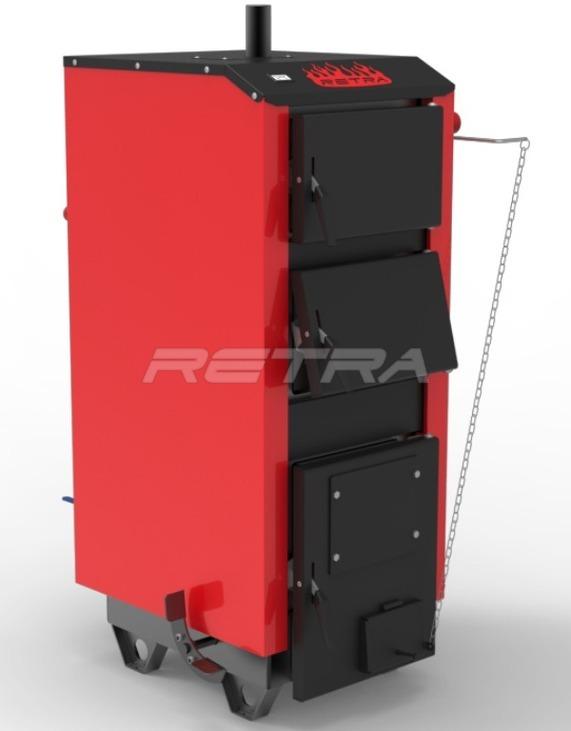 Твердопаливний котел Ретра-5М 10 кВт