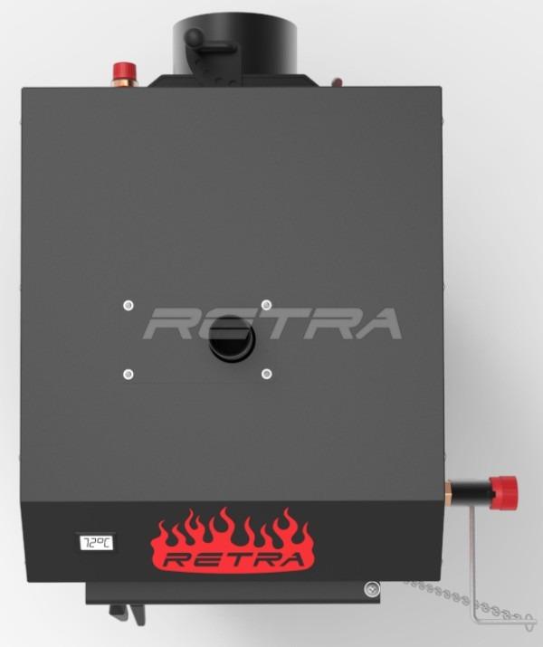 Твердопаливний котел Ретра-5М 10 кВт. Фото 6