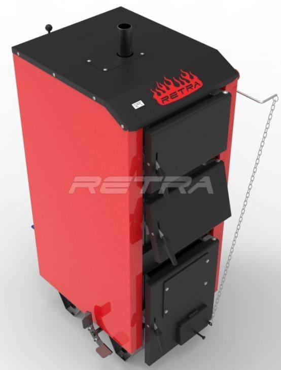 Твердопаливний котел Ретра-5М 32 кВт. Фото 4