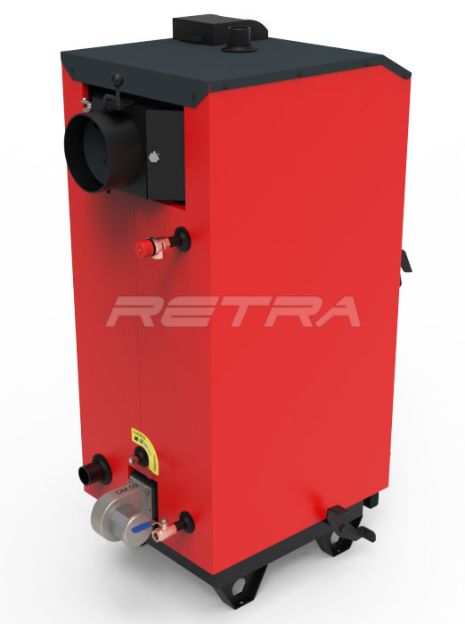 Твердопаливний котел Ретра-5М Plus 32 кВт. Фото 7