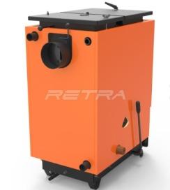 Твердопаливний котел Ретра-6М Comfort Orange 16 кВт. Фото 2